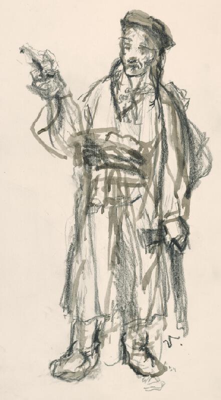 Jaroslav Vodrážka - Muž v kroji
