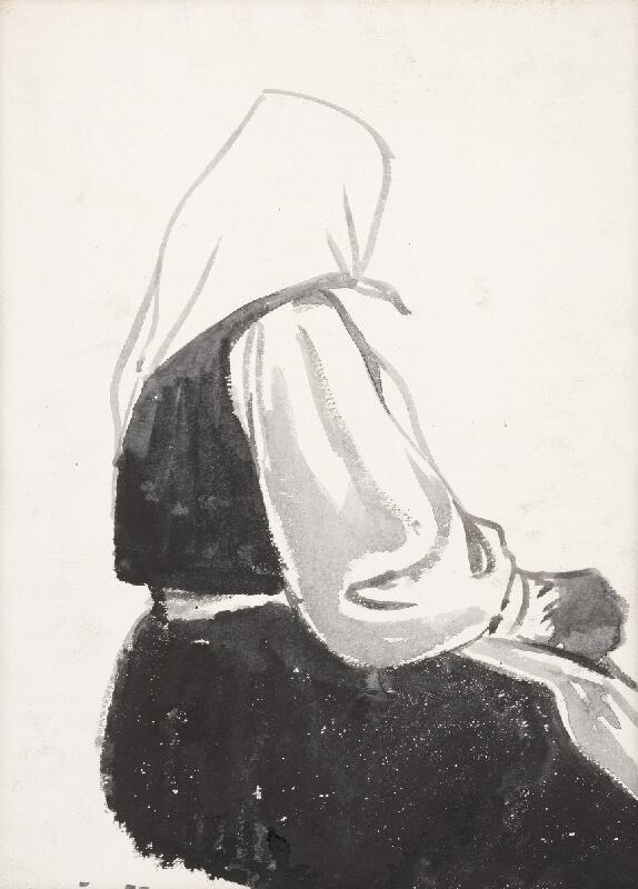 Imrich Vysočan - Žena z Heľpy