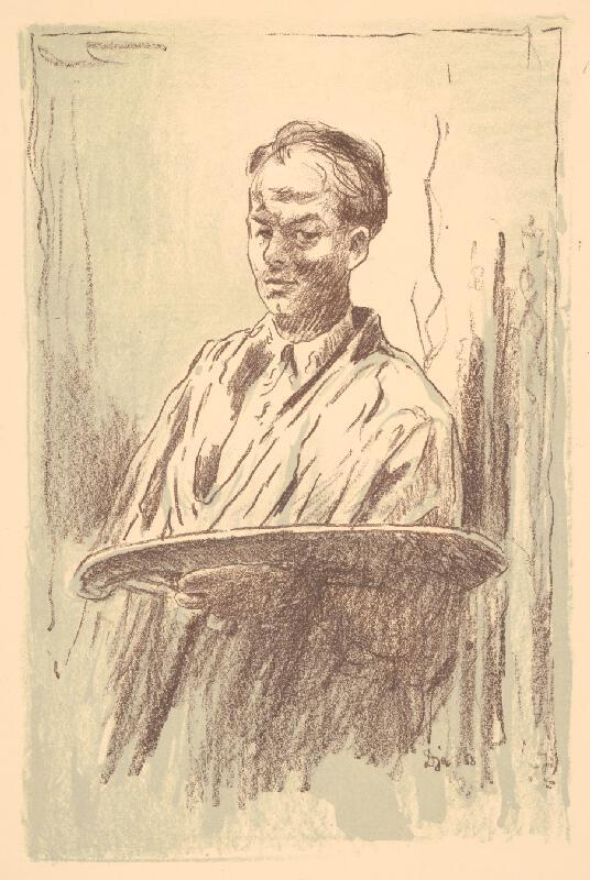 Anton Djuračka - Autoportrét 1958