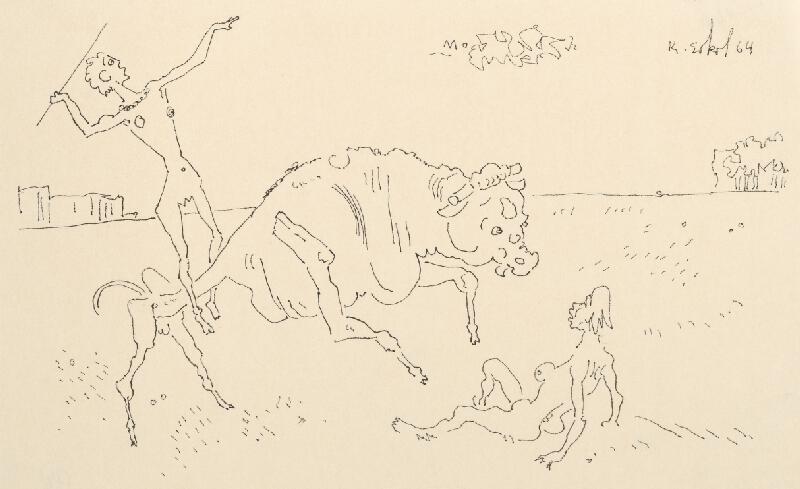 Koloman Sokol - Ženy a býk