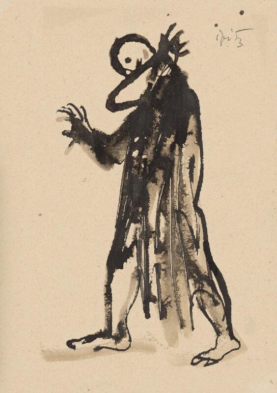 Ernest Špitz - Kresba II.