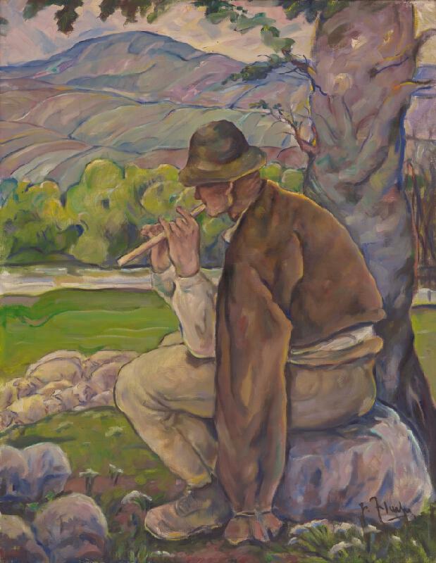 Július Flache - Bača s píšťalou