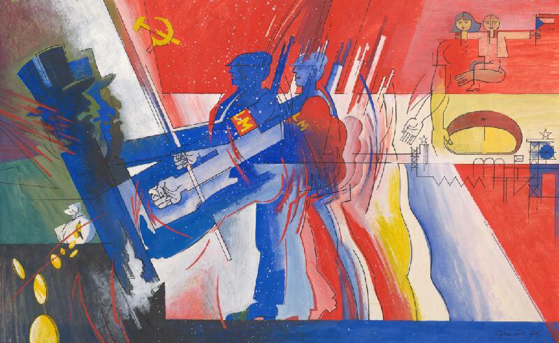 Oto Opršal - Ľudové milície