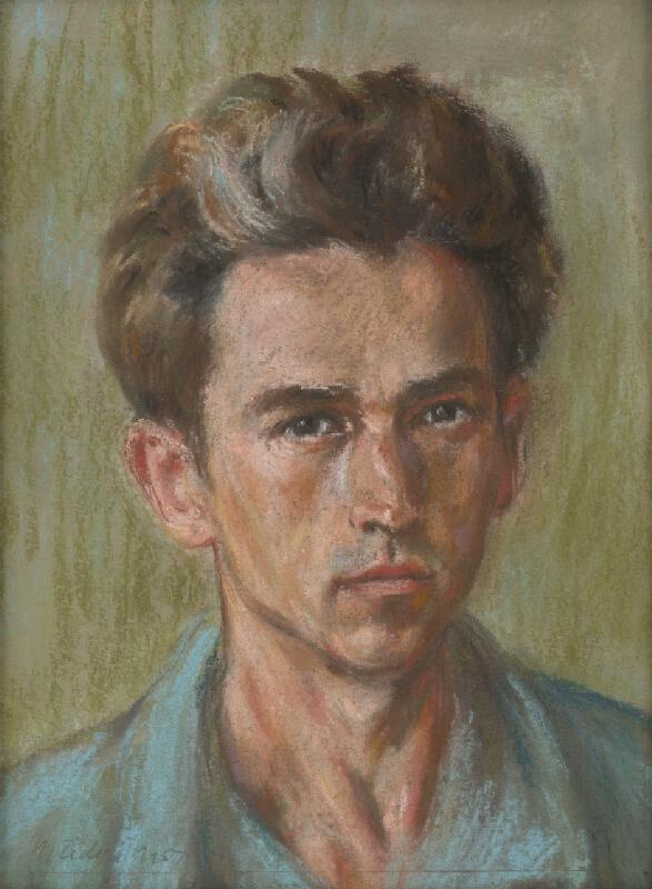 Jozef Fedora - Autoportrét