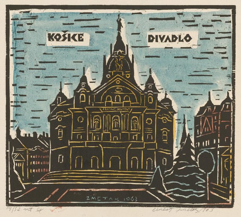 Ernest Zmeták - Košice - divadlo