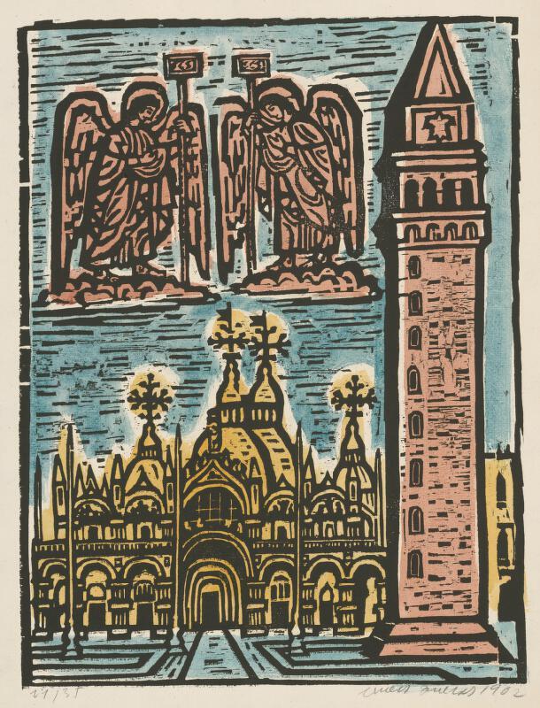 Ernest Zmeták - Chrám sv.Marka v Benátkach
