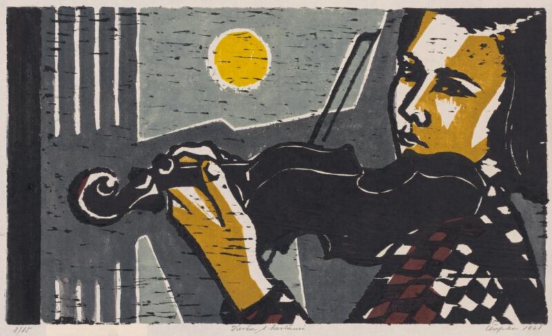 Štefan Čapka - Dievča s husľami
