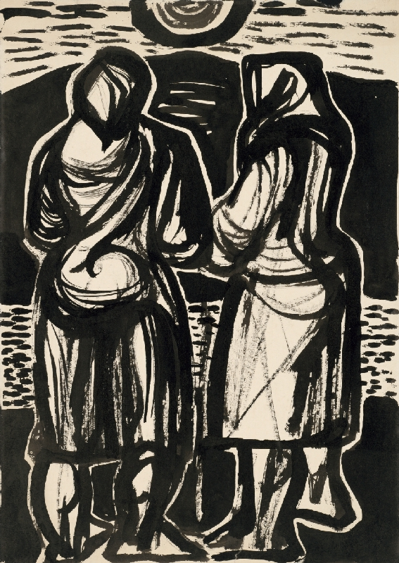 Béla Bacskai - Dve ženy