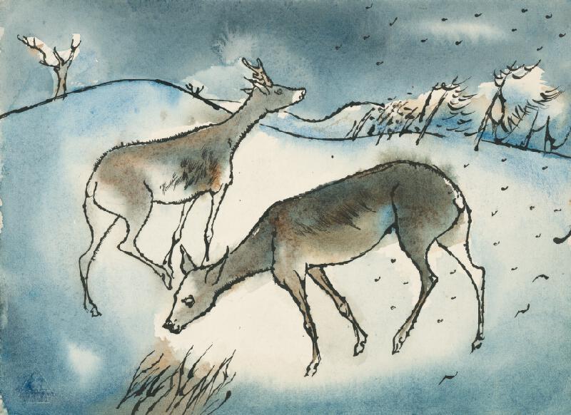 Vincent Hložník - Zimný motív III