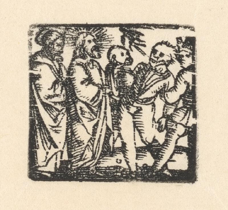 Nemecký grafik z 1. polovice 16. storočia - Uzdravenie chromého