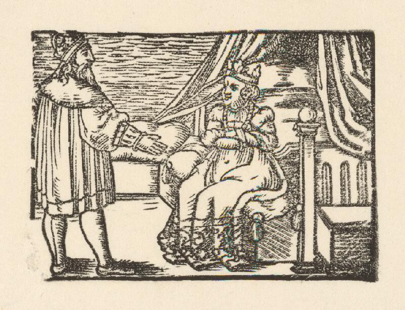 Nemecký grafik z 2. polovice 16. storočia - Cisár s manželkou