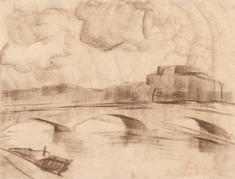 Zolo Palugyay - Most na Seine II.