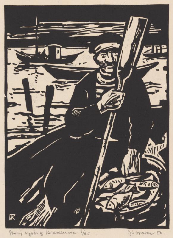 Robert Dúbravec - Starý rybár