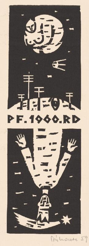Robert Dúbravec - PF. 1960 .RD
