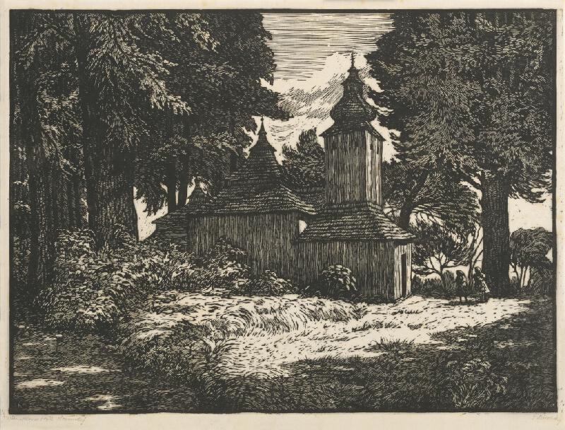 Josef Řeřicha - Drevený kostolík