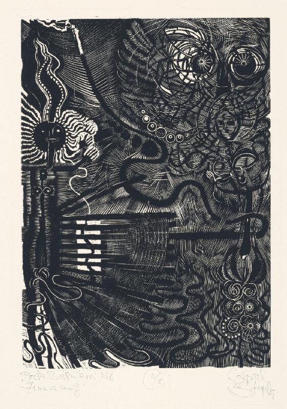Gabriel Štrba - Pocta básnikovi M.V. - žena a muž