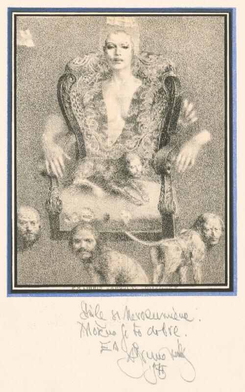 Albín Brunovský - Ex libris Lohynský