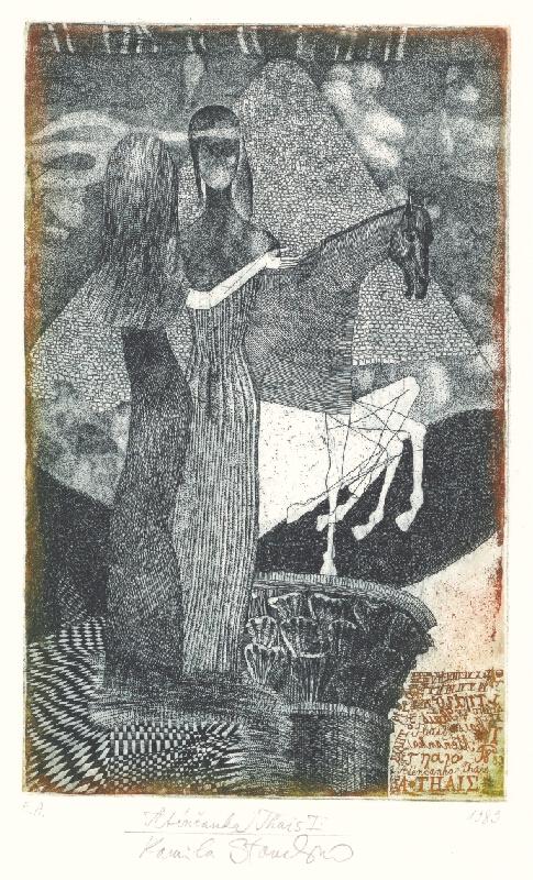 Kamila Štanclová - Aténčanka Thais I.