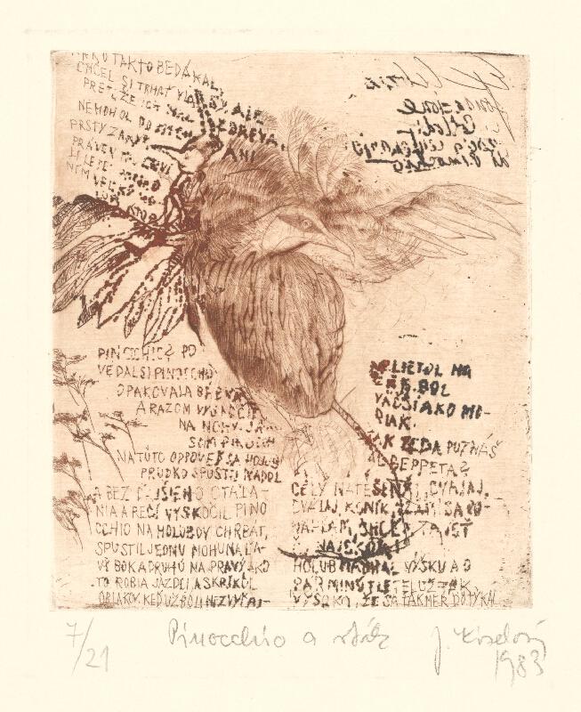 Jana Kiselová-Siteková - Pinocchio a vták