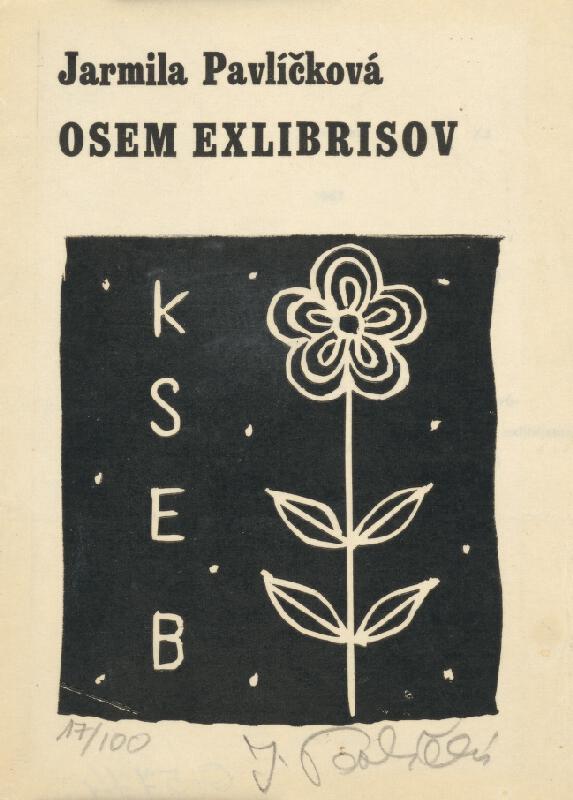 Jarmila Pavlíčková - Ex libris K S E B