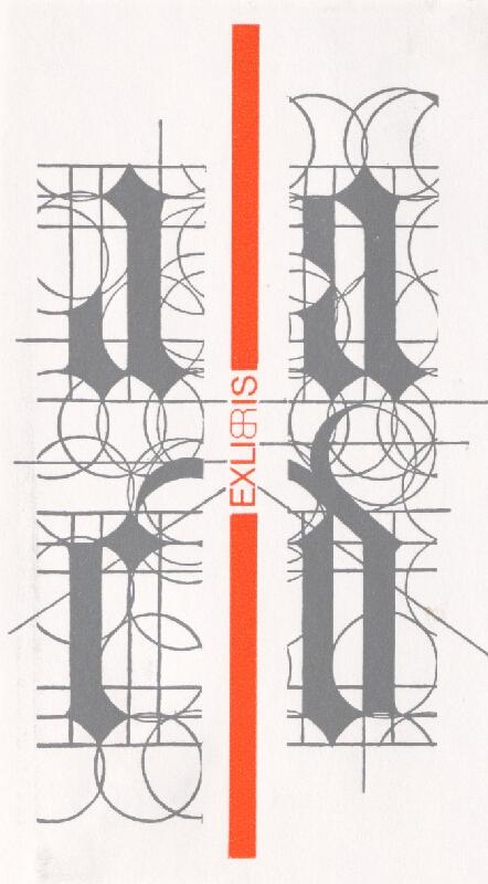 Róbert Brož - Ex libris D,B,R,L