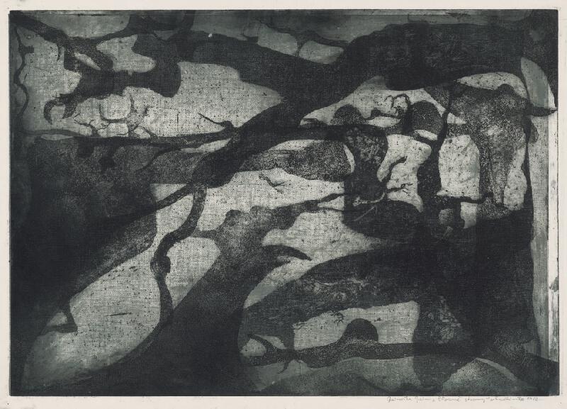 Ján Jánoška - Zhorené stromy IV
