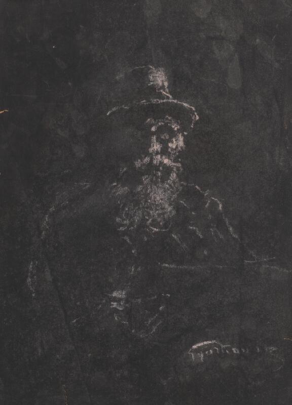 František Gyurkovits - Autoportrét 10