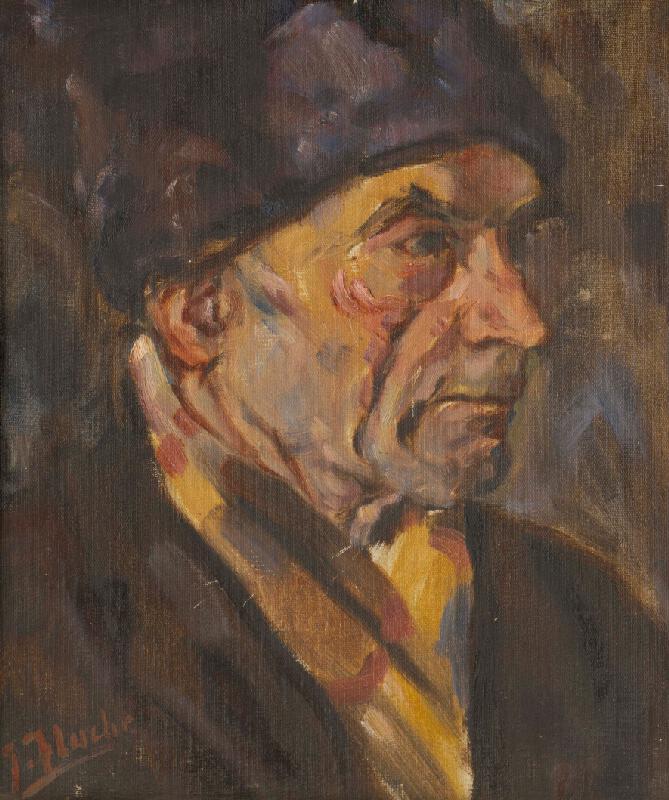 Július Flache - Partizán