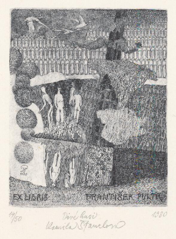 Kamila Štanclová - Ex libris Pultr