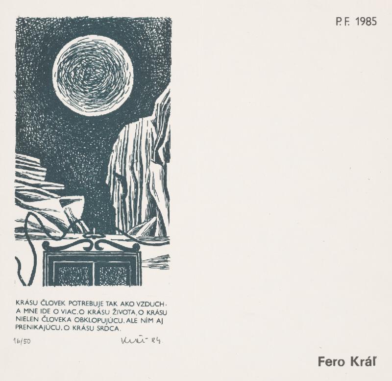 Fero Kráľ - PF 1985 I.