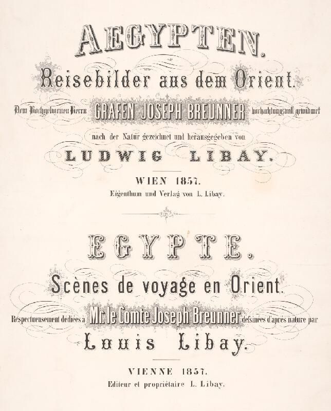 Karol Ľudovít Libay - Aegypten - Egypte
