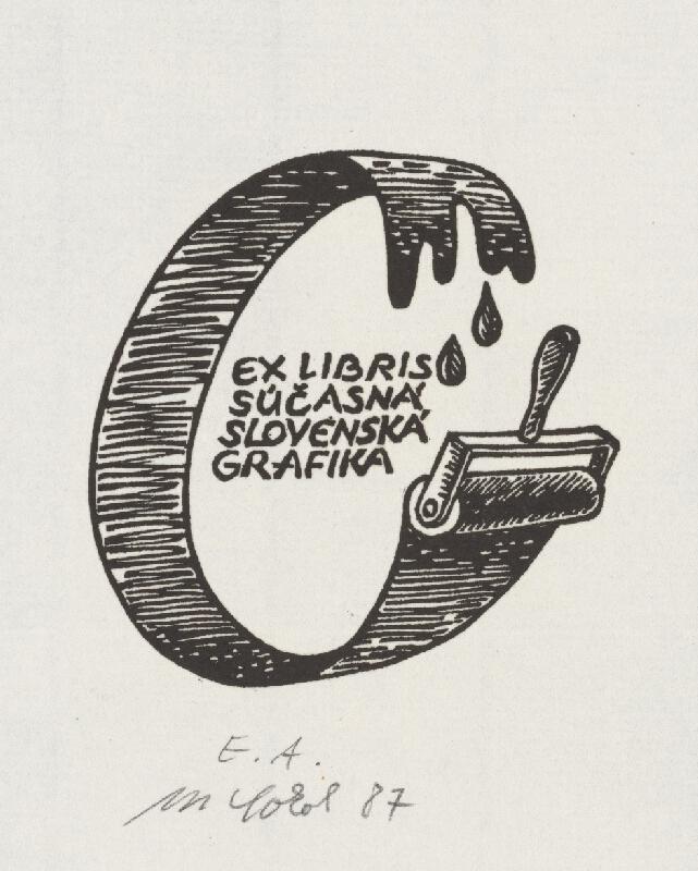 Milan Sokol - Ex libris Súčasná slovenská grafika
