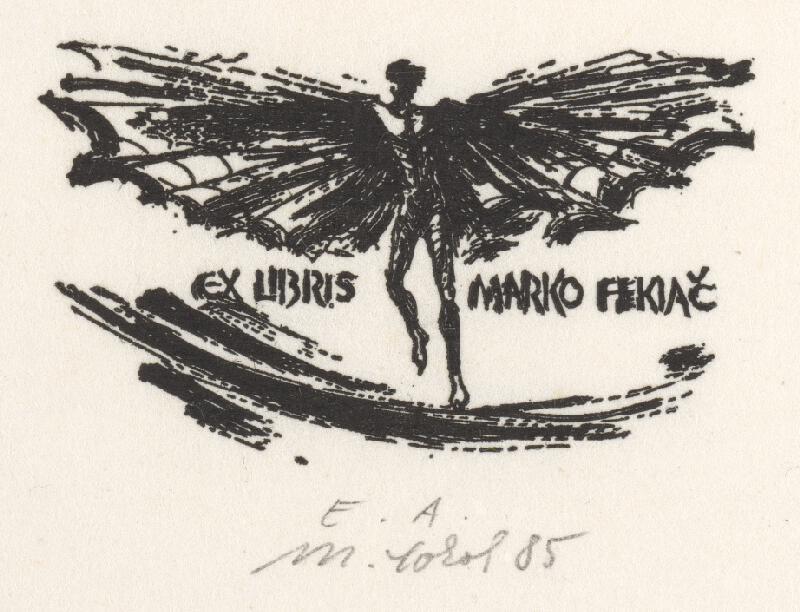 Milan Sokol - Ex libris Marko Fekiač