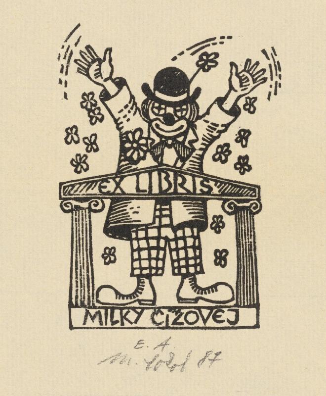 Milan Sokol - Ex libris Čížová