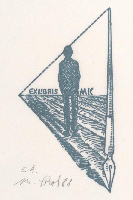 Milan Sokol - Ex libris M.Kováč