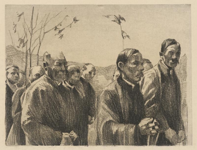 Viktor Hermély - Na pohrebe