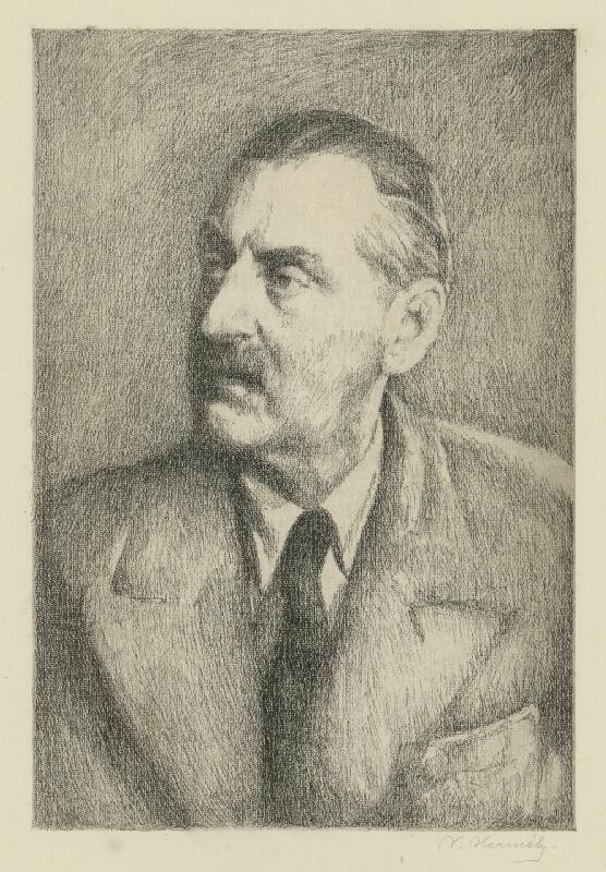 Viktor Hermély - Autoportrét