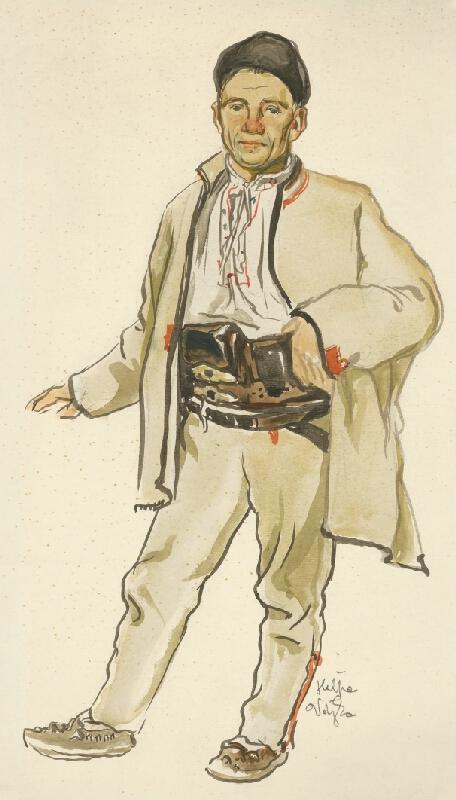 Jaroslav Vodrážka - Muž z Heľpy v bielom