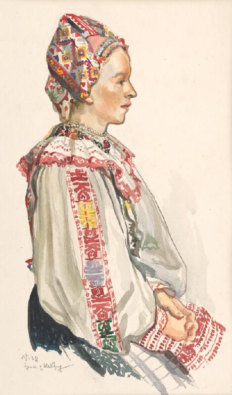 Jaroslav Vodrážka - Žena z Heľpy