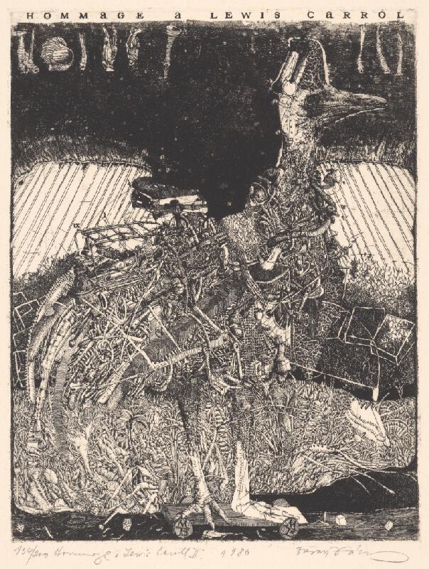 Dušan Kállay - Hommage a Lewis Carroll II.