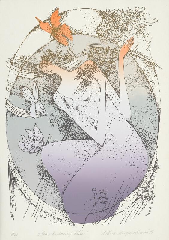 Božena Augustínová - Sen o kvitnúcej lúke