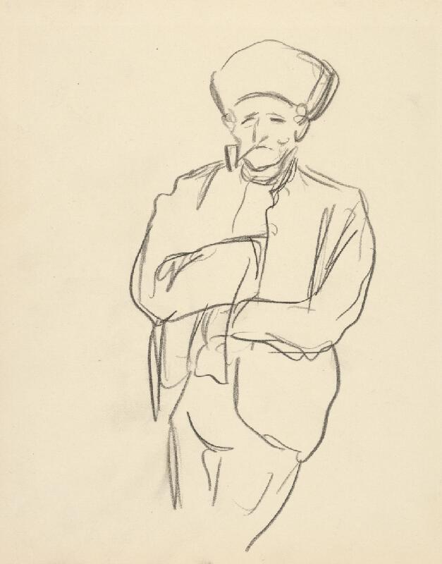 Ján Novák - Muž s fajkou