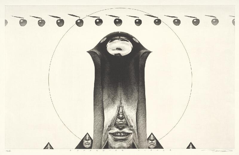 Naoji Ishiyama - Expanding circle