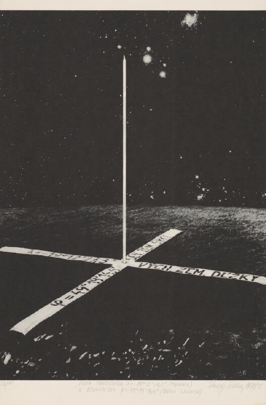 Rudolf Sikora - Pocta priesečníku poludníka -19o12'27,3'' a rovnobežky 49o 19'14,4'' [Orava - Slovensko]