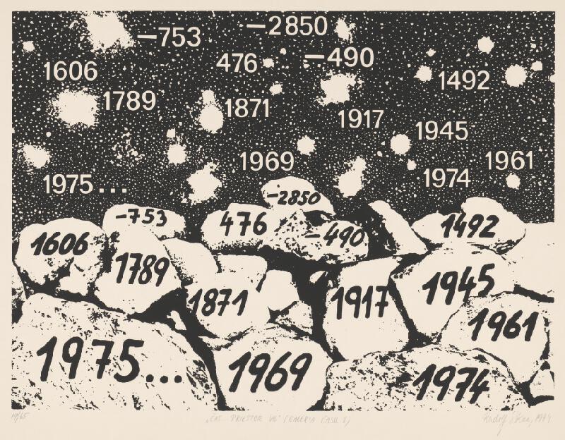 Rudolf Sikora - Čas... priestor VIII [galéria času II]