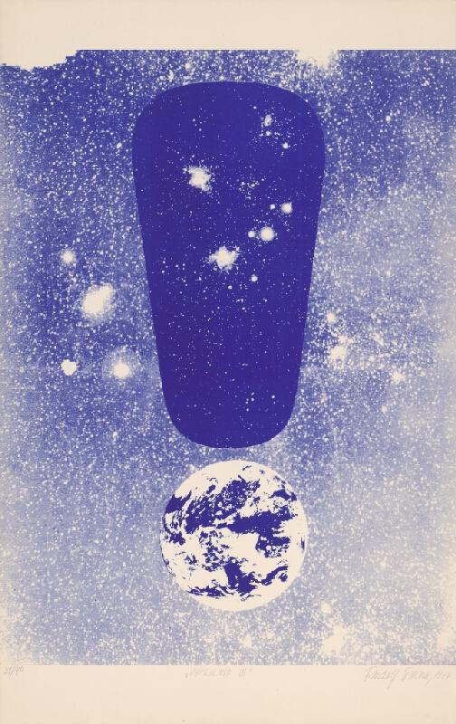 Rudolf Sikora – Výkričník VI., 1974, Stredoslovenská galéria