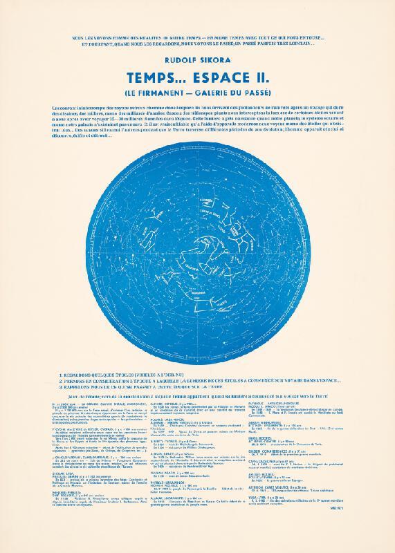 Rudolf Sikora - Rudolf Sikora Temps...Espace II.[Le firmanent - galérie du passé]