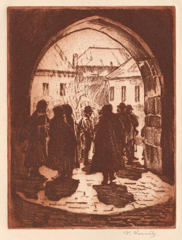 Viktor Hermély - Dolná brána