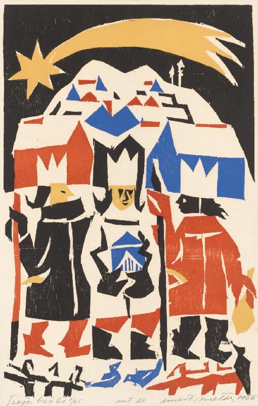Ernest Zmeták - Traja králi