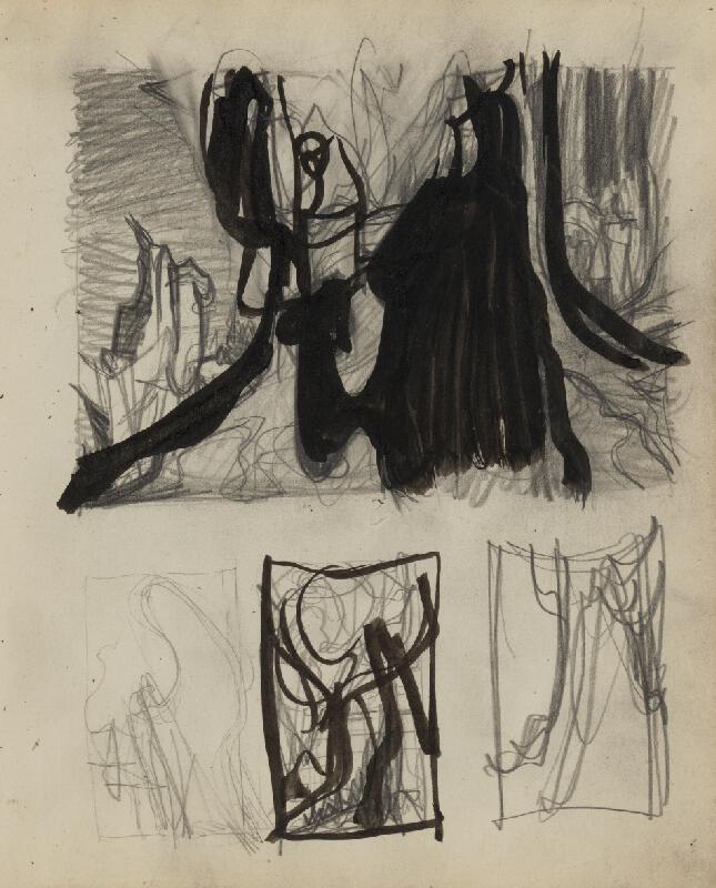 Ján Novák - List č. 146 zo skicára